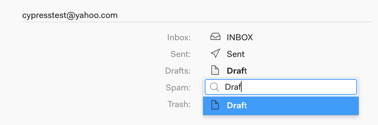 Mailspring isn't showing the correct messages in my Sent or Drafts